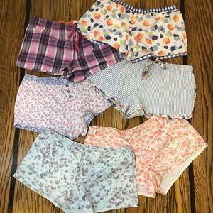 Gap/Aerie Cotton PJ Shorts